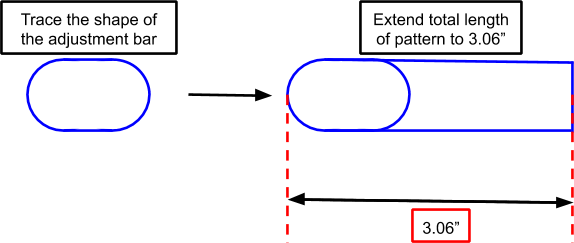 Figure 21. An illustration of the handlebar grip pattern